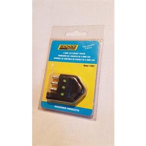 4-way LED circuit tester