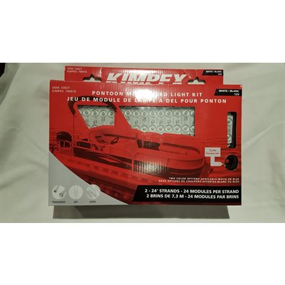 Pontoon module LED light kit, white, 12V