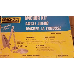 Deluxe anchor kit, up to 24' boat, Seachoice