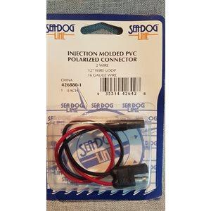 Connecteur polarisé moulé par injection PVC SeaDog Line 16G