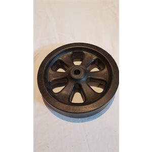 "8"" BLK POLY SPARE JACK WHEEL"
