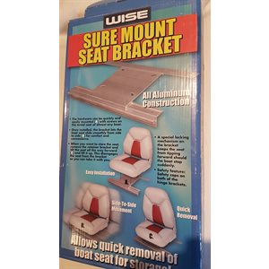 Sure mount seat bracket